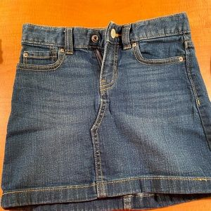 KIDS Old Navy jean skirt size 8